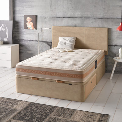Canapé abatible con cajones Kanapee Mixed-Bed
